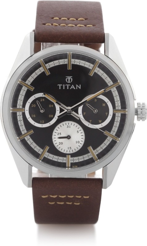 Titan 90084SL01J Analog Watch For Men