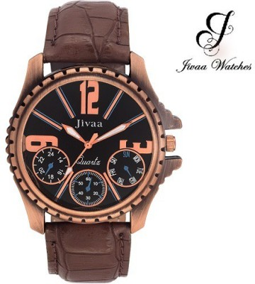 Jivaa jv_ck_5648 Ultimate Chrono-Pattern Analog Watch  - For Men, Boys