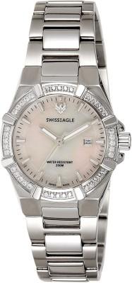 Swiss Eagle SE-6041-1M Analog Watch  - For Women