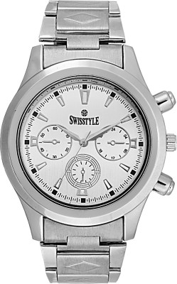 Swisstyle SS-GR8051-WHT Analog Watch  - For Men