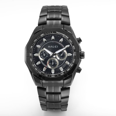 Halei HLBLK216508 Abacus Analog Watch  - For Men