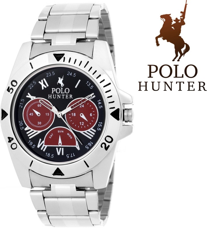 Polo Hunter Stylish Dial 06 Modest Analog Watch For Men