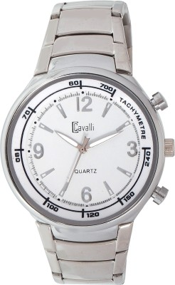 Cavalli CW067-Full Stainless Steel Watch for Men Analog Watch  - For Men