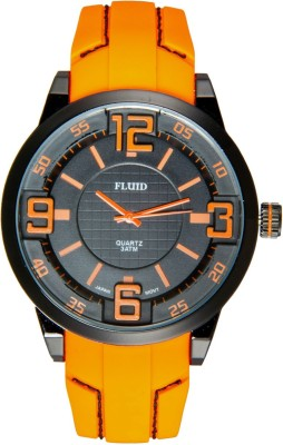 Fluid FL-104-OR Analog Watch  - For Men