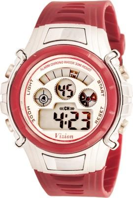 Vizion 8515B-1RED Cold Light Digital Watch  - For Boys, Girls