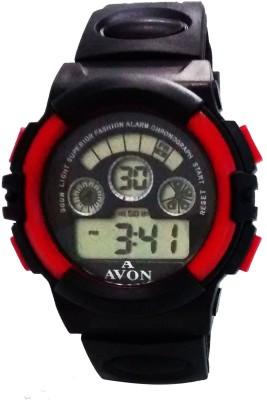 A Avon PK_120 Black Digital Watch  - For Men