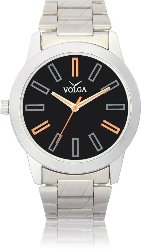 VOLGA VLW080001 Proffessional Steel belt Silver Designer Stylish