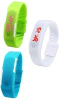 COSMIC M 6 PACK OF 3 DIGITAL LED WATCHES Digital Watch For Men