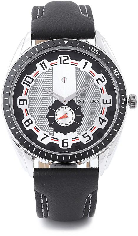 Titan NH1582KL01 Tagged Analog Watch For Men