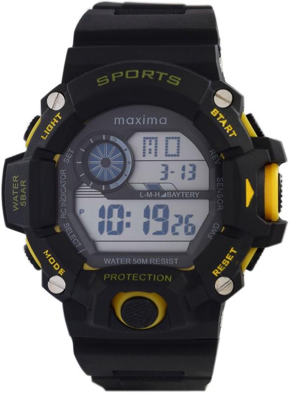 Maxima 43861PPDN Fiber Collection Digital Watch For Men