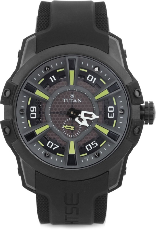 Titan 1630NP02 HTSE 3 Analog Watch For Men
