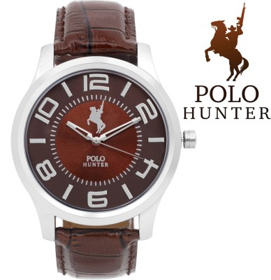 Polo Hunter 5008-1 Modest Analog Watch  - For Men