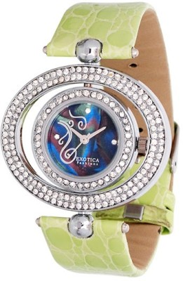 Exotica Fashions EFL-17-Green Dm Series Analog Watch  - For Women