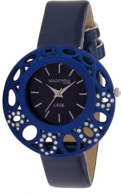 Madonna MDN-010-BLU Analog Watch  - For Women