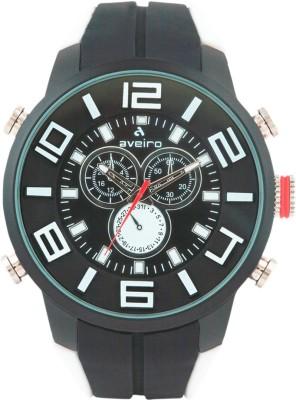 Aveiro AV127DMLTBLKWHT_1 Analog Watch  - For Men