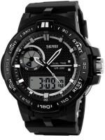 Skmei White S shock Analog Digital Watch For Men