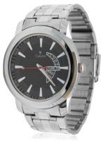 Calvino CGAC-141117_Silver Blk Trendy Analog Watch  - For Men