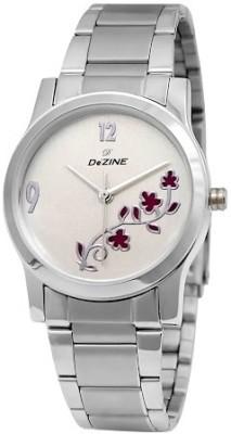 Dezine DZ-LR903-WHT-CH Analog Watch  - For Women