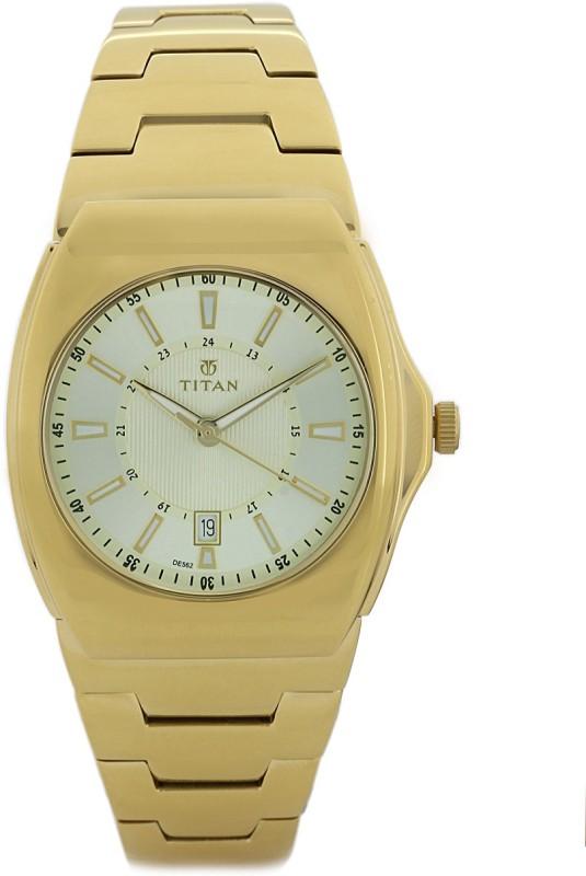 Titan 90021YM03J Regalia Analog Watch For Men