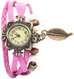 Swiss Rock Vintage-Pink Analog Watch  - ...