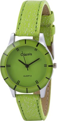 Crazeis WT-FD11GR-KD Analog Watch  - For Girls