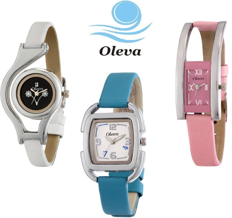 Oleva OVD 162W Analog Watch For Women