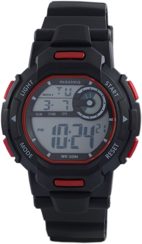 Maxima 43840PPDN Fiber Collection Digital Watch For Men