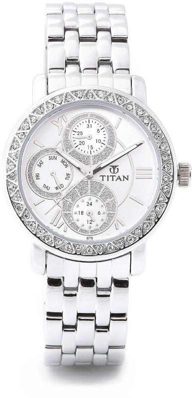 Titan NF9743SM01 Analog Watch For Women