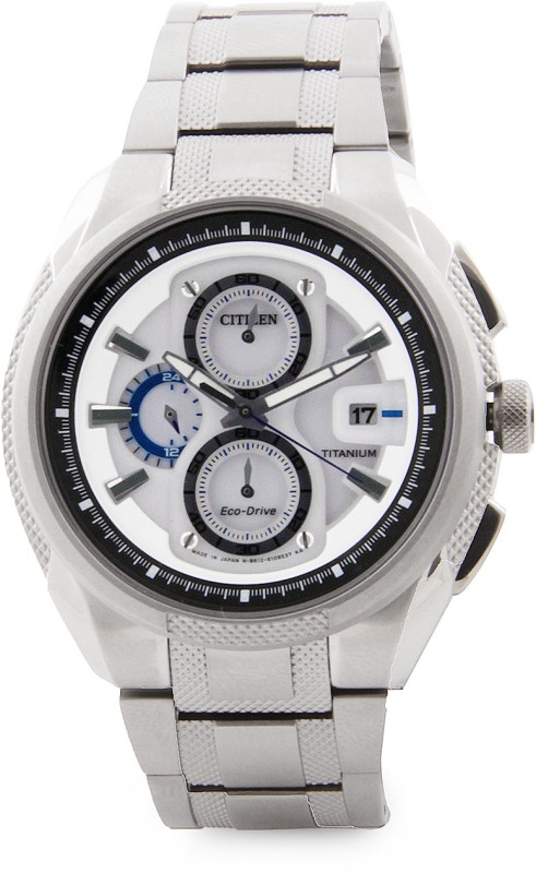 Citizen CA0201 51B Eco Drive Analog Watch For Men