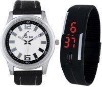 Jack Klein P004LEDBLK Analog Digital Watch For Men