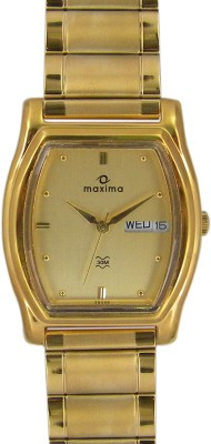 Maxima 29330CPGY Analog Watch  - For Men