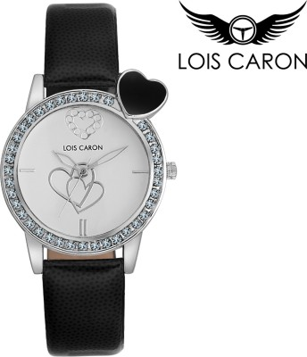 Lois Caron LCA-4520 HEART SHAPE Analog Watch  - For Girls, Women