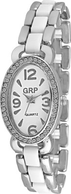 GRP LR107-WHT-CH Analog Watch  - For Women