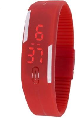 Fabkharidi Magnet Red LED Digital Watch  - For Girls, Boys, Women, Men