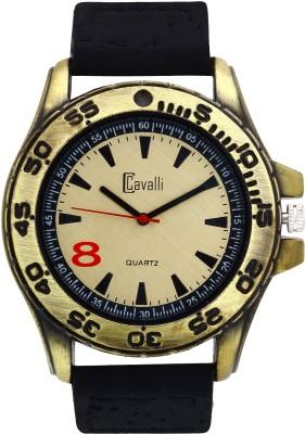 Cavalli CW111 Antique Gold Analog Watch  - For Men, Boys