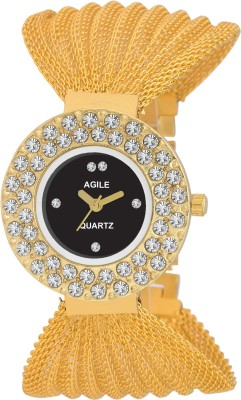 Agile AG275 Classique Fabric Analog Watch  - For Girls, Women