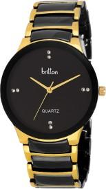Britton BR-GR3002-BLK Analog Watch - For Men