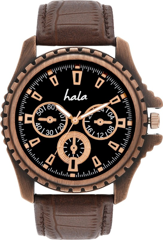Hala Octane Ultimate ChronoGraph Pattern Analog Watch For Men