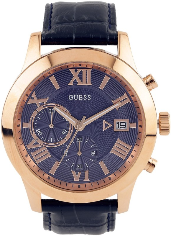 Guess W0669G2 ATLAS Analog Watch For Men