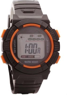 Telesonic Td-Wr30m-08 (Orange) Honhx S-Sport Series Digital Watch  - For Men