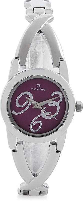 Maxima 28211BMLI Swarovski Analog Watch For Women