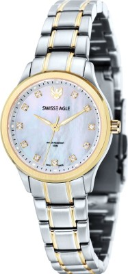 Swiss Eagle SE-6047-66 Special Collection Analog Watch  - For Women