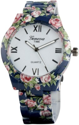 Geneva Time Ceramic AZ017 Analog Watch  - For Women, Girls