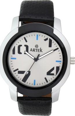 ARTEK ARTEK-4009-SILVER-BLACK Analog Watch  - For Men