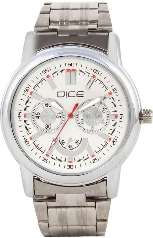 Dice DCMLRD35SSSLVWIT376 Analog Watch For Men