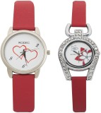 RODEC RD BLK-1 combo of 2 womens watch A...