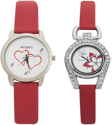 RODEC RD BLK-1 combo of 2 womens watch Analog Watch  - For Women