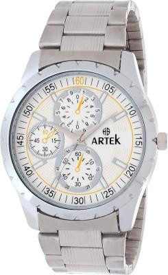 ARTEK ARTK-1055-0-SILVER Analog Watch  - For Men