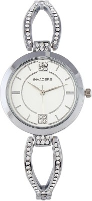 Invaders 67541-SCSLV Glourious Analog Watch  - For Women