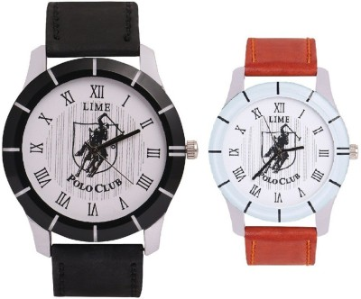 Lime gentspolo-35-pololadies-30 Analog Watch  - For Couple